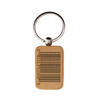 Custom Wood Keychain Rounded Rectangle