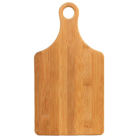 Serving Board - Paddle Shape - Bamboo