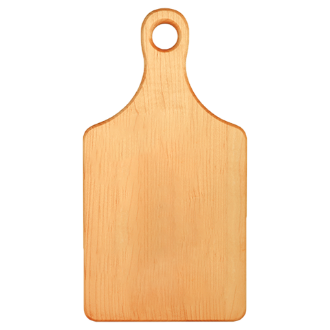Serving Board - Paddle Shape - Maple