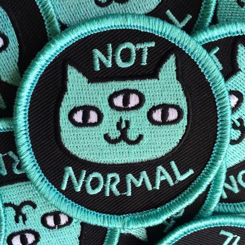 Not Normal Badge Bomb Patch