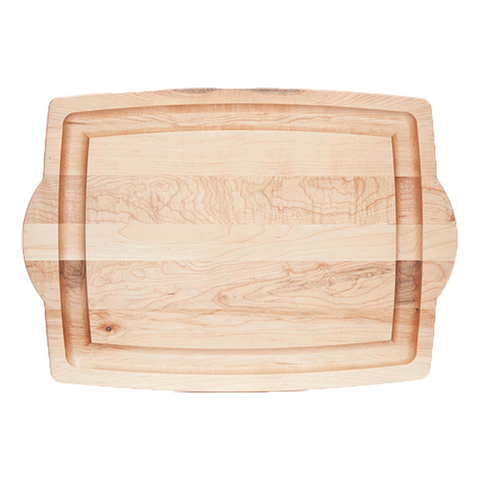 Serving Board - JK Adams Maple Farmhouse Carving Board with Handles