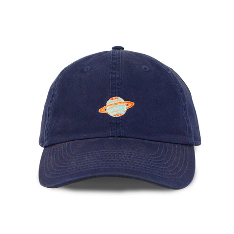 Saturn Make Original Navy Blue Chino Cap