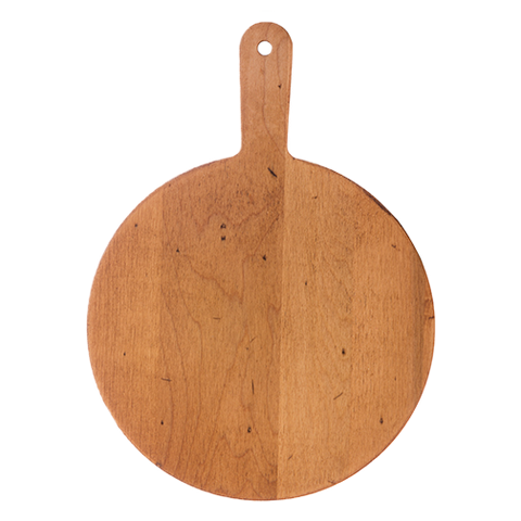 Serving Board - JK Adams Round Maple Cheese Board with Handle