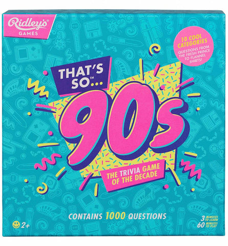 Thats So 90s Quiz