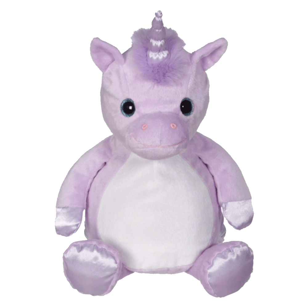 Violette Unicorn Embroider Buddy 16in. Stuffie