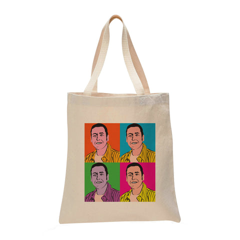 Adam Sandler Warhol Make Original Natural Tote