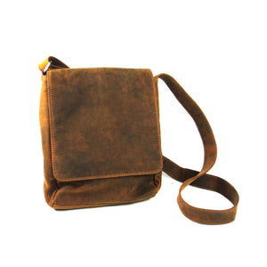 Adrian Klis Leather Messenger Bag 2430