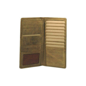 Adrian Klis Leather Travel Bifold Wallet 234