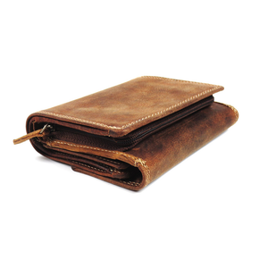 Canadian leather wallet by Adrian Klis