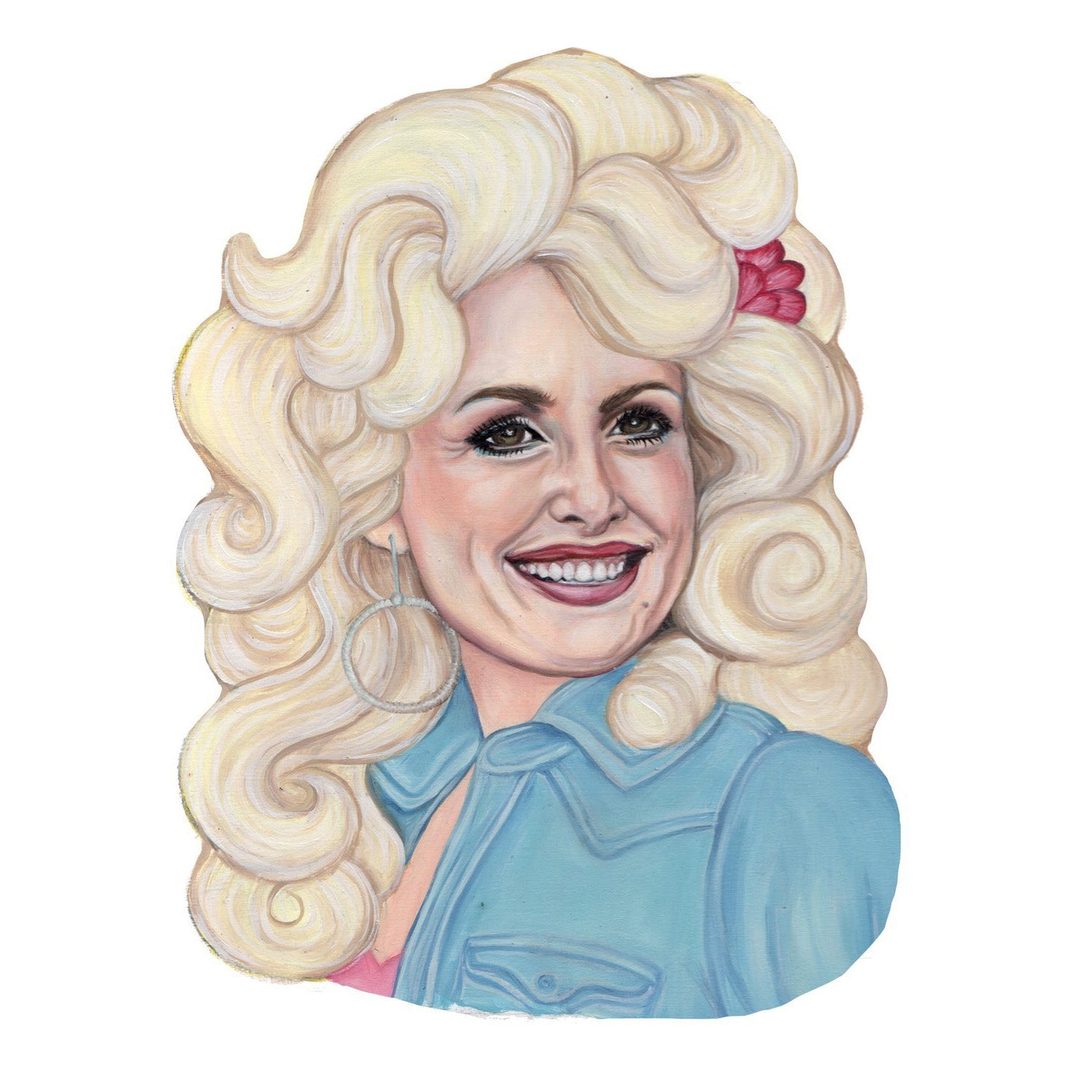 Andrea Hooge - Dolly Parton Magnet