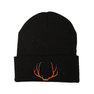 Antler Make Original Black Cuffed Toque
