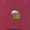 Beer Make Original Burgundy Chino Cap