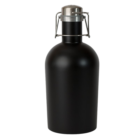 Stainless Steel Growler - Black