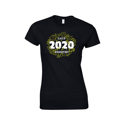 Class of 2020 Make Original Black T-Shirt Womens