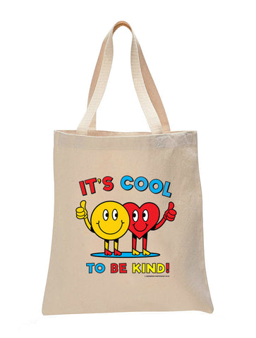Cool To Be Kind Make Original Natural Tote