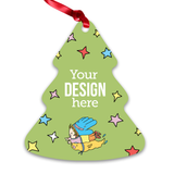 Custom Aluminum Ornament - Tree