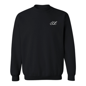 Custom embroidered sweatshirt with custom monogrammed initials