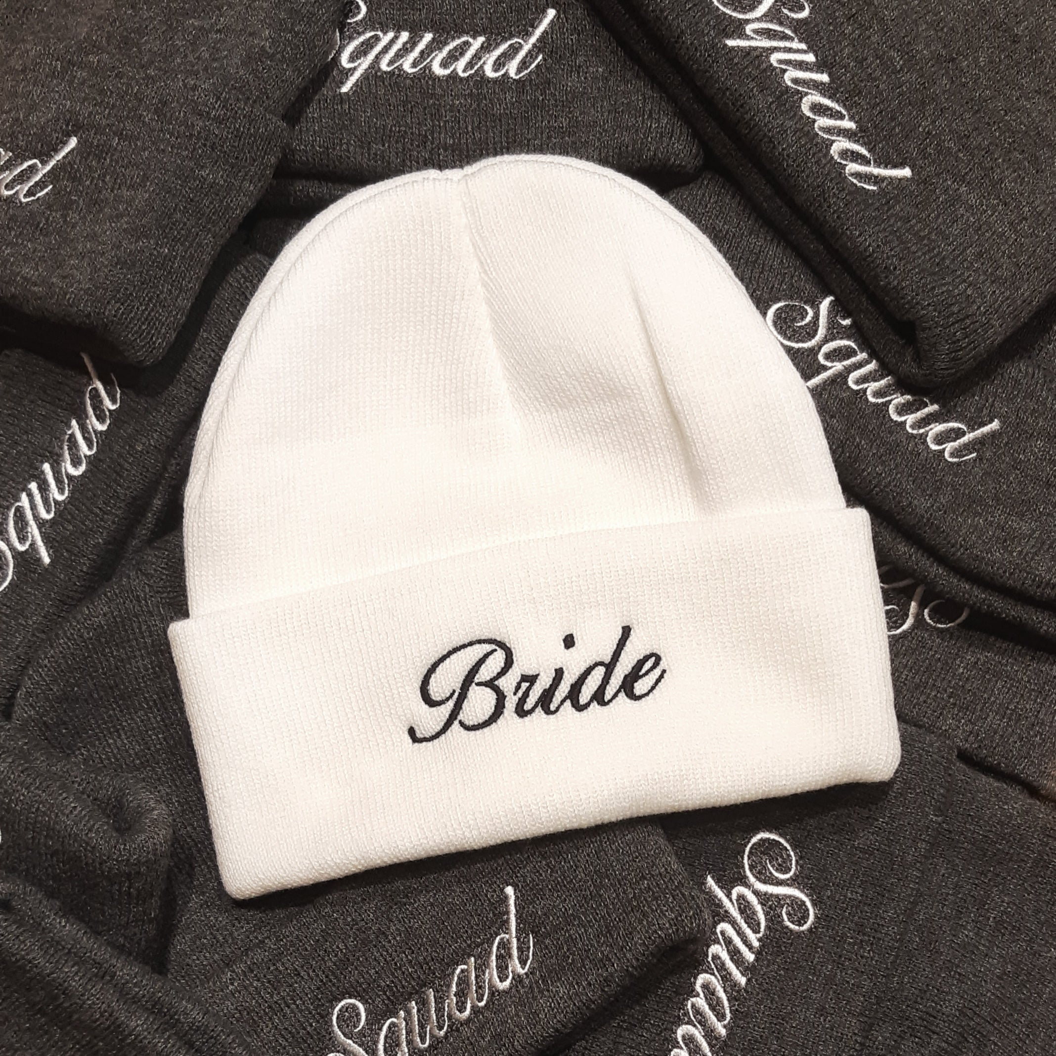 Custom Embroidered Bachelorette Party Toques