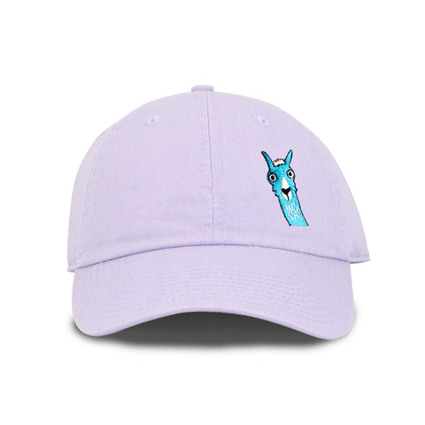 Llama Make Original Lavender Chino Cap