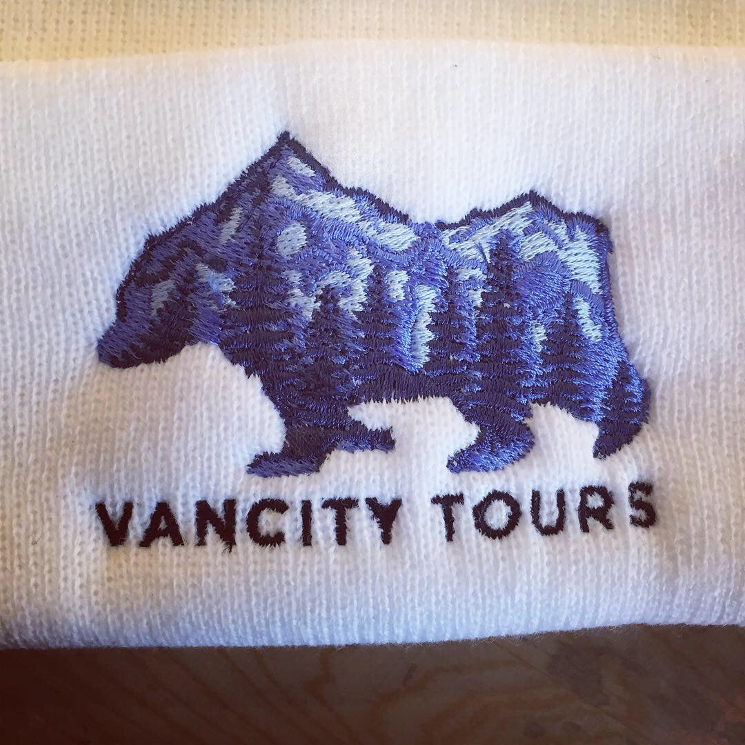 Embroidered Custom Van City Tours