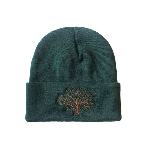 Tree Make Original Forest Green Cuffed Toque