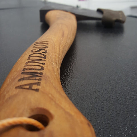 Custom Engraved Axe Handle