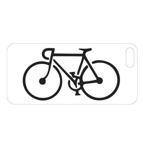 iPhone Case Bicycle Engraving