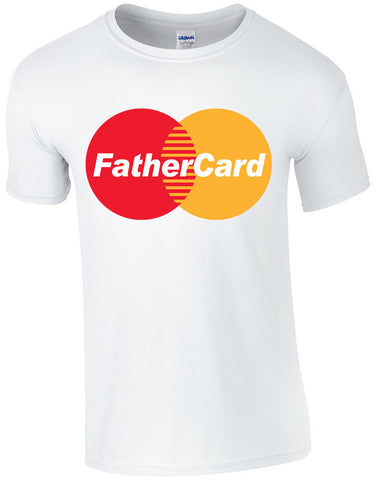 Fathercard Make Original White T-Shirt Mens