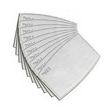 Filters for Adjustable Face Mask (Pack of 10)