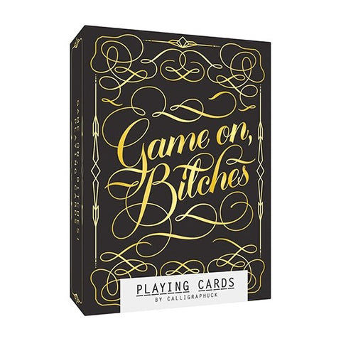 Game On Bitches - Playing Cards