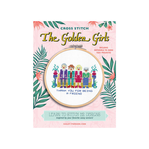The Golden Girls Cross Stitch
