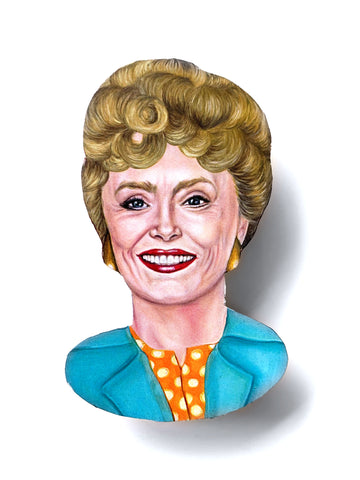 Andrea Hooge - Golden Girls Blanche Magnet