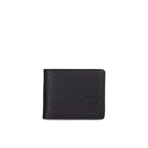 Herschel Hank RFID Leather Wallet Black