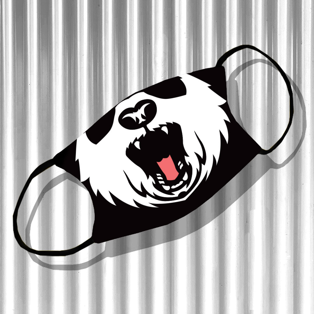 Angry Panda Face Adjustable Make Original Face Mask with Filter KIDS