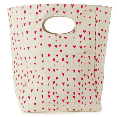 Floating Hearts Lunch Bag
