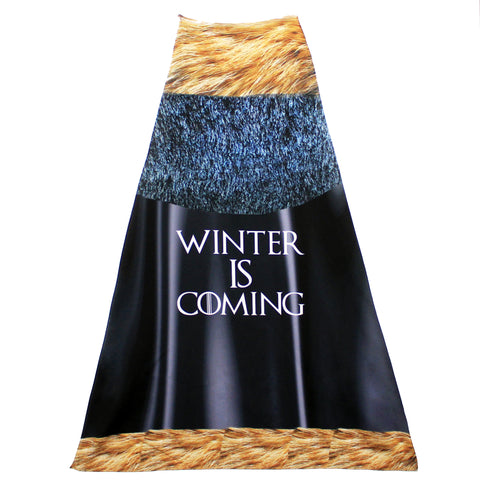 """Winter is Coming"" Mighty Print Cape"
