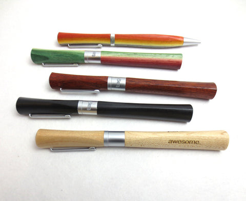 Laser Engraved Wooden Pens