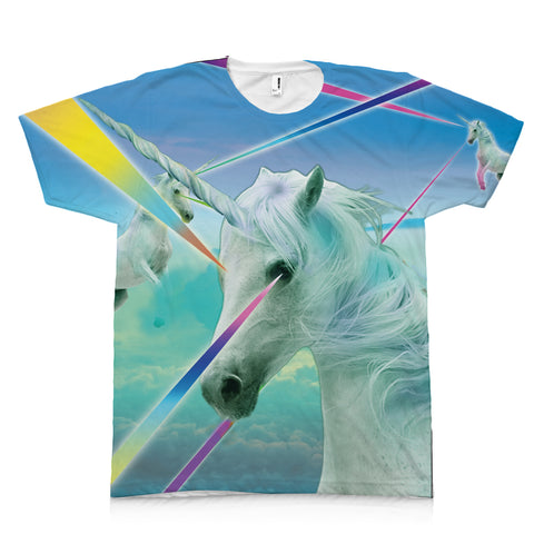 Laser Unicorn Make Original Mighty Print T Unisex