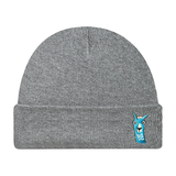 Llama Make Original Heather Grey Cuffed Toque
