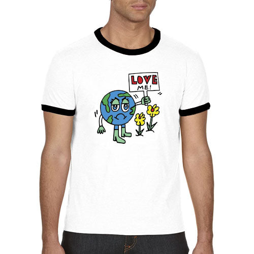 Love Me Make Original Ringer T-Shirt Mens