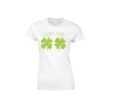 Lucky Pair Make Original Colour T-shirt Womens