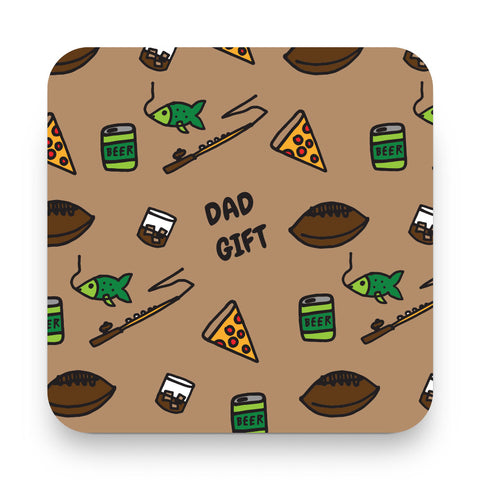 Dad Gift Make Original Coaster