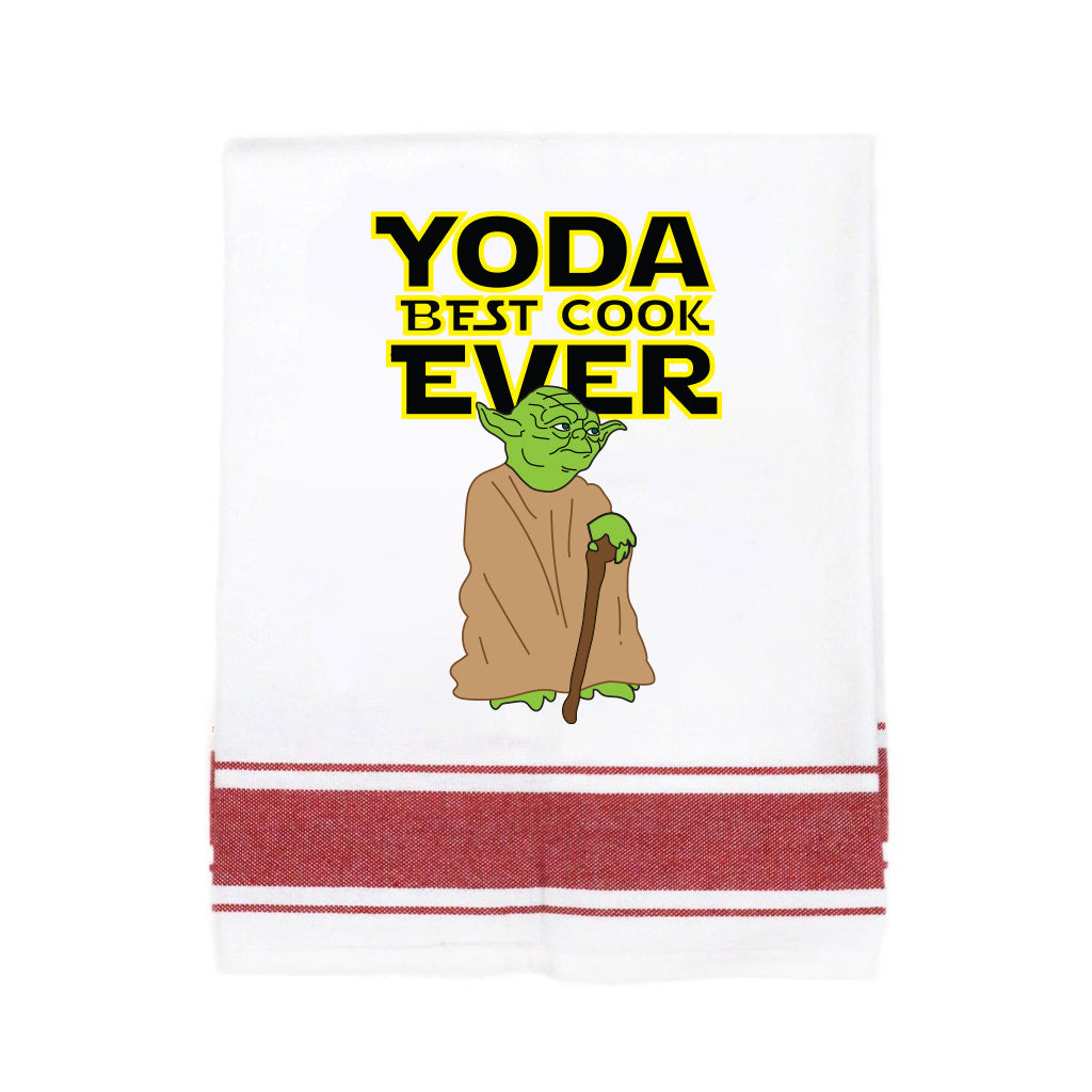 Yoda Best Cook Ever Make Original Kitchen Towel