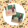 Lumberjack and Lumberjill coasters