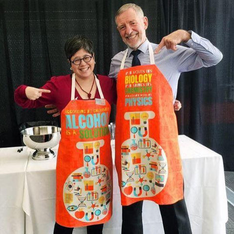 Custom Mighty Print Science Aprons