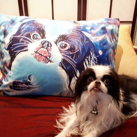 Custom Mighty Print Dog Pillowcase