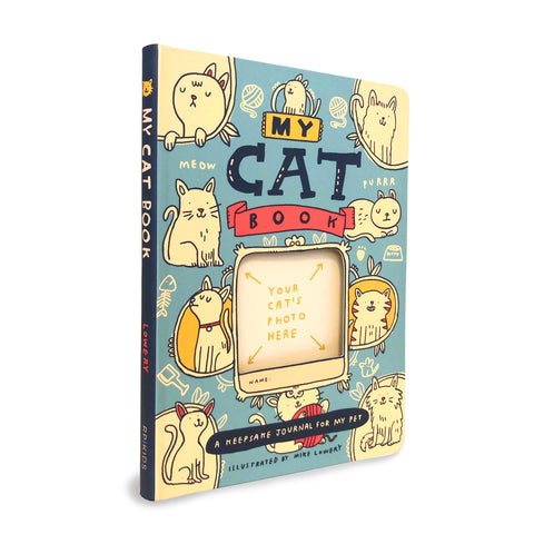 My Cat Book - A Keepsake Journal for My Pet