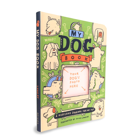 My Dog Book - A Keepsake Journal for My Pet