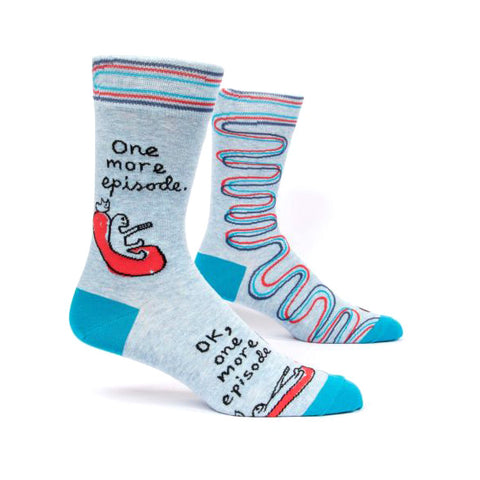 Mens Crew Socks - One More Episode