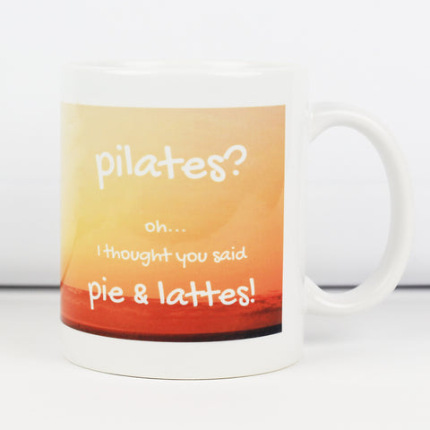Pilates Make Original White Mug